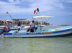 Sport Fishing with Edy in Playa del Carmen, Mexico