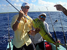 Another great catch fishing in Playa del Carmen Mexico