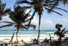 The Beaches of Tulum, Mexico